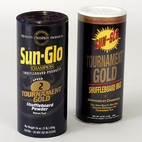 Sun Glo 2 Tournament Gold Shuffleboard Powder