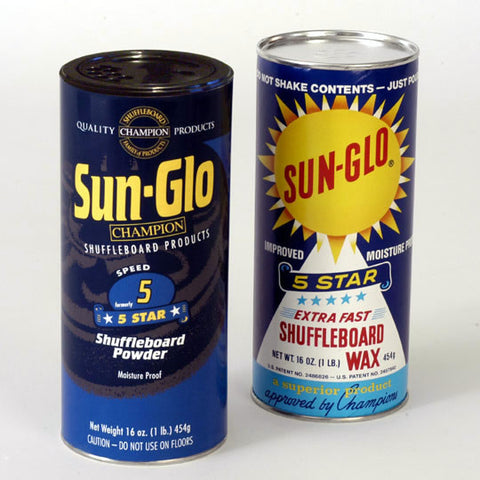 Sun-Glo Speed 5 Shuffleboard Powder