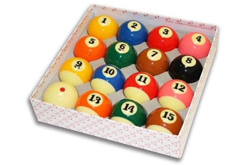 TV Tournament Pool Ball Set