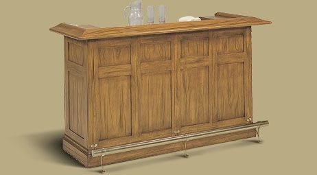 "Legacy Sterling 72"" Bar Oak"