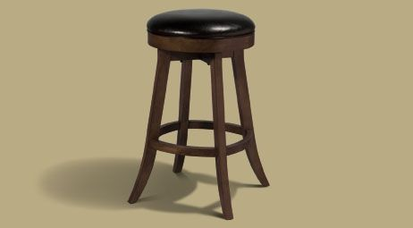 Legacy Sterling Backless Stool Nutmeg