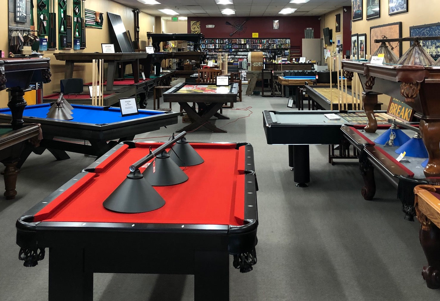 Huge Selection of Pool Cues