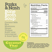 Coconut Thai Bone Broth Soup - 6 pack