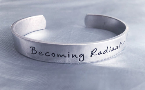 Becoming Radiant Cuff Bracelet