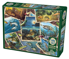 Cobble Hill Fish Pics Jigsaw Puzzle (1000 Pieces)