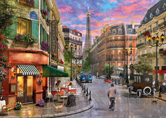 Schmidt Street to the Eiffel Tower Jigsaw Puzzle (1000 Pieces)