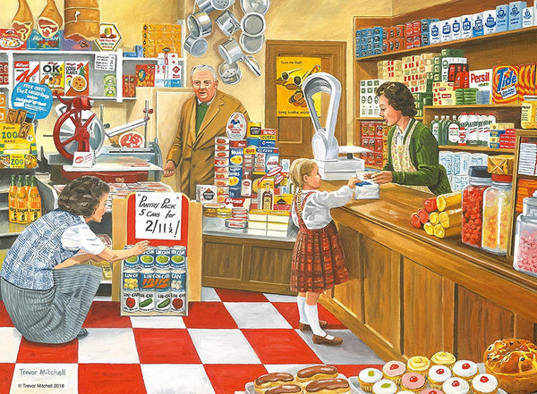 Ravensburger The Corner Shop Jigsaw Puzzle (100 XXL Extra Large Pieces)