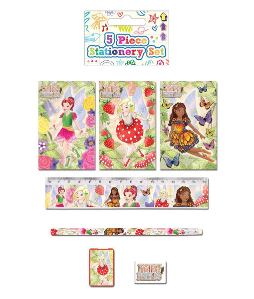 Fairy 5-Piece Stationery Set