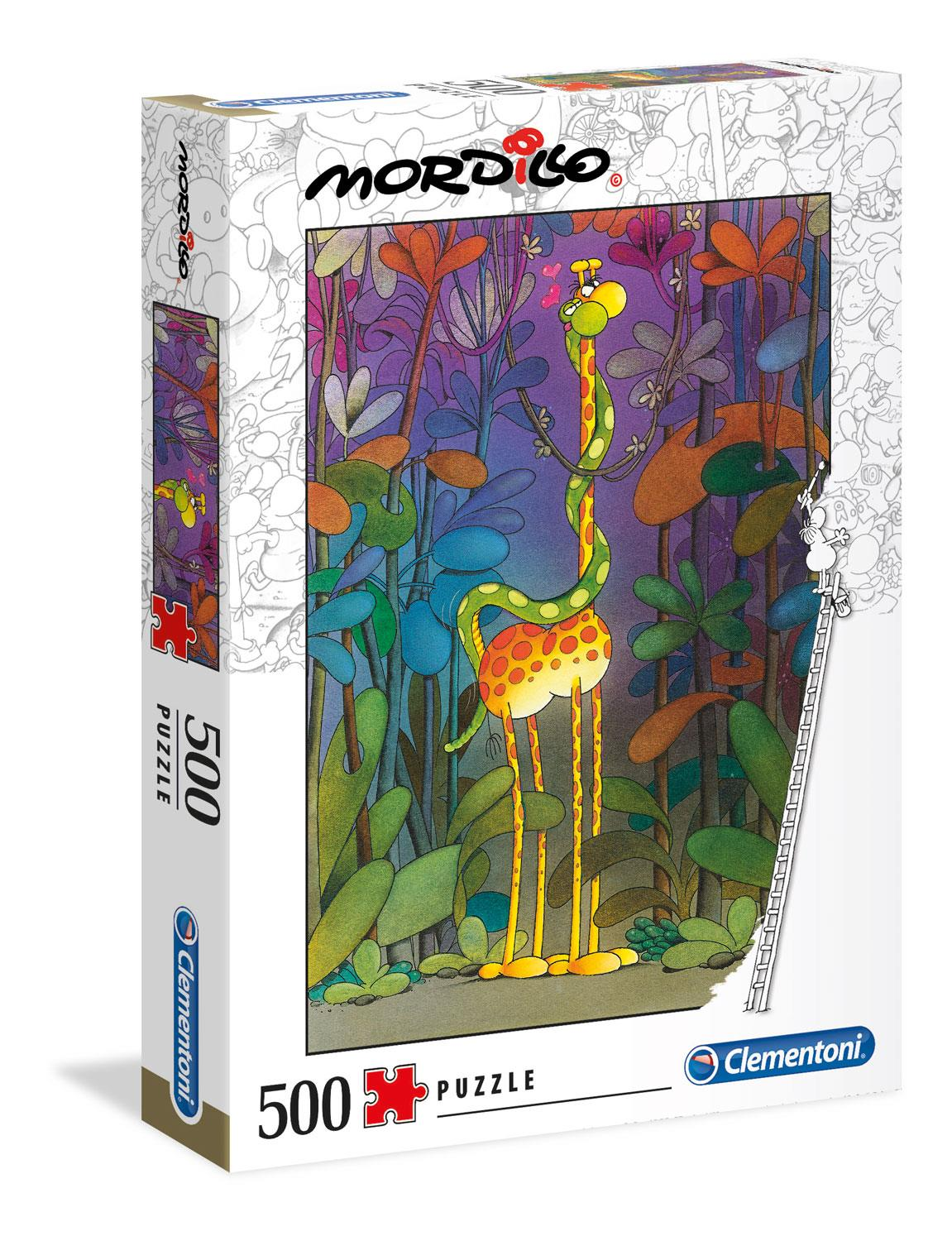 Clementoni Mordillo The Lover High Quality Jigsaw Puzzle (500 Pieces)