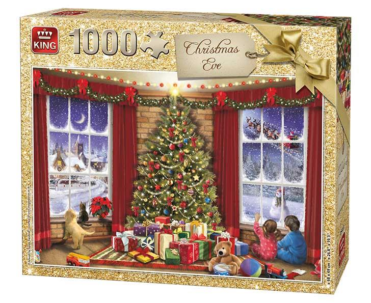 King Christmas Eve Jigsaw Puzzle (1000 Pieces)
