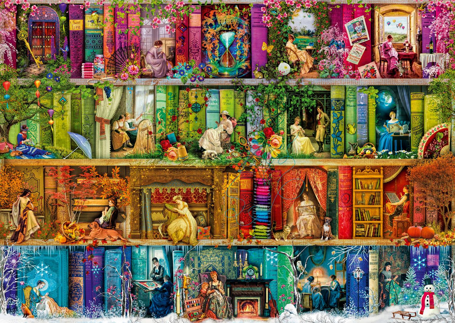 Ravensburger A Stitch in Time Jigsaw Puzzle (1000 Pieces)