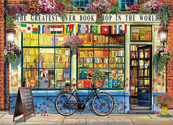 Eurographics The Greatest Bookstore in the World Jigsaw Puzzle (1000 Pieces)