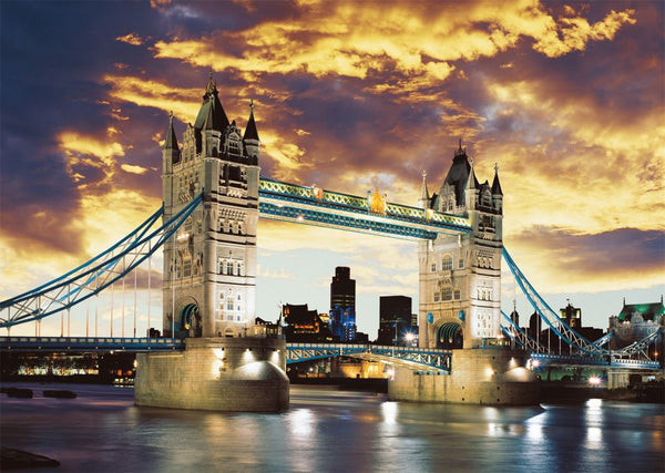 Schmidt Tower Bridge Jigsaw Puzzle (1000 Pieces)