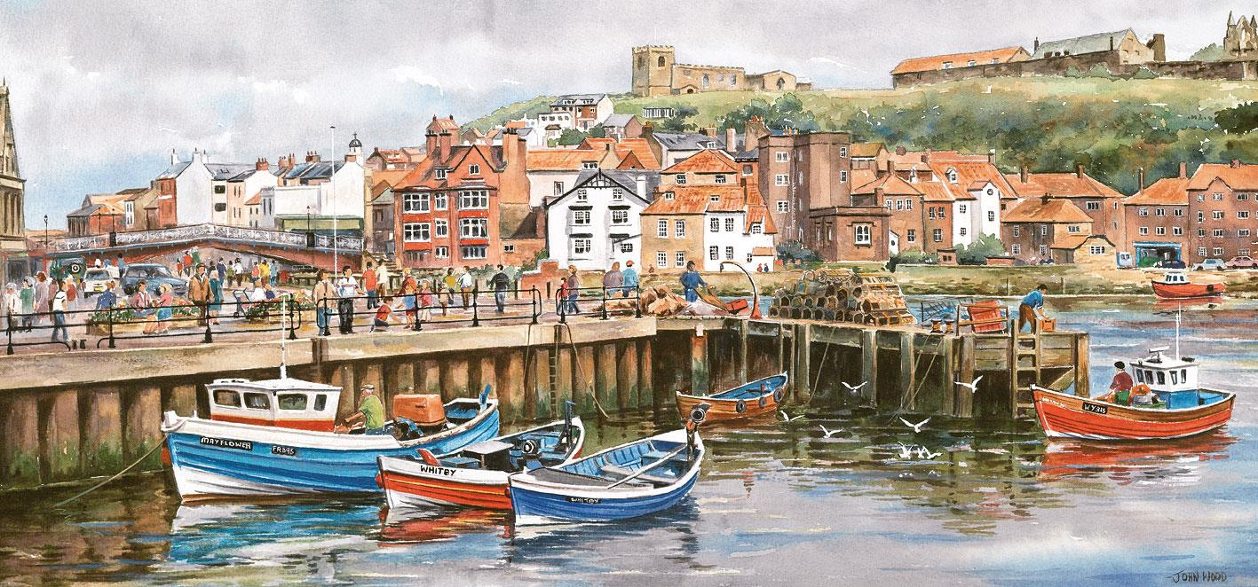 Gibsons Whitby Jigsaw Puzzle (636 Pieces)