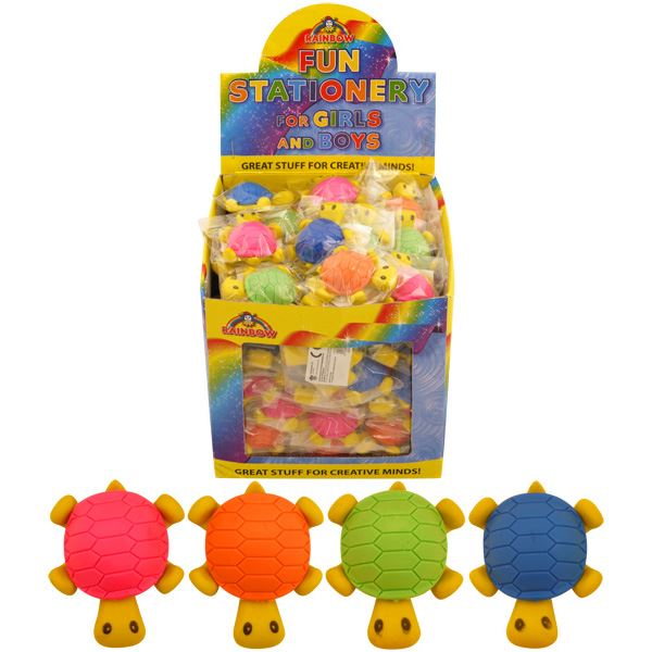 96 Turtle Erasers