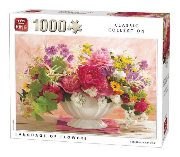 King Language Of Flowers Jigsaw Puzzle (1000 Pieces)