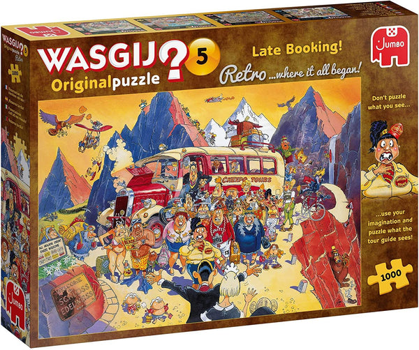Wasgij Retro Original 5 Late Booking! Jigsaw Puzzle (1000 pieces)