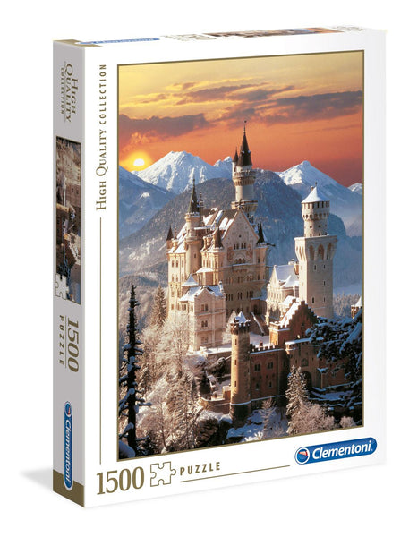 Clementoni Neuschwanstein High Quality Jigsaw Puzzle (1500 Pieces)
