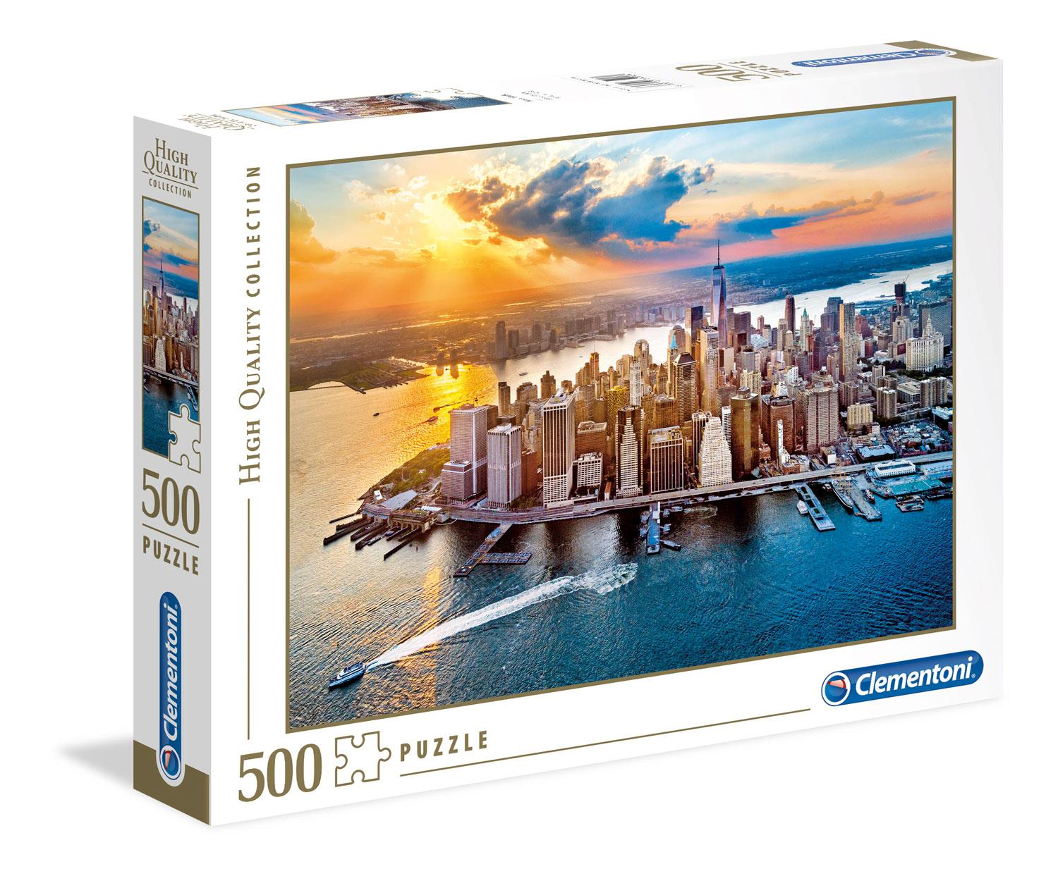 Clementoni New York High Quality Jigsaw Puzzle (500 Pieces)