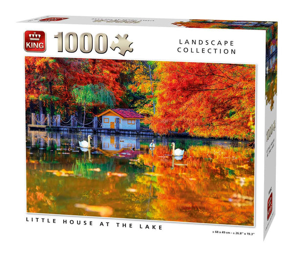 King Little House At The Lake  Jigsaw Puzzle (1000 Pieces)