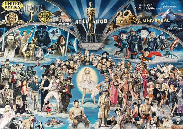 Schmidt Renato Casaro Hollywood The Universe of Glory  Jigsaw Puzzle (1000 pieces)