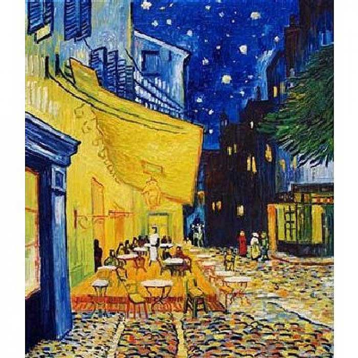 D-Toys Van Gogh Cafe Terrace at Night  Jigsaw Puzzle (1000 Pieces)