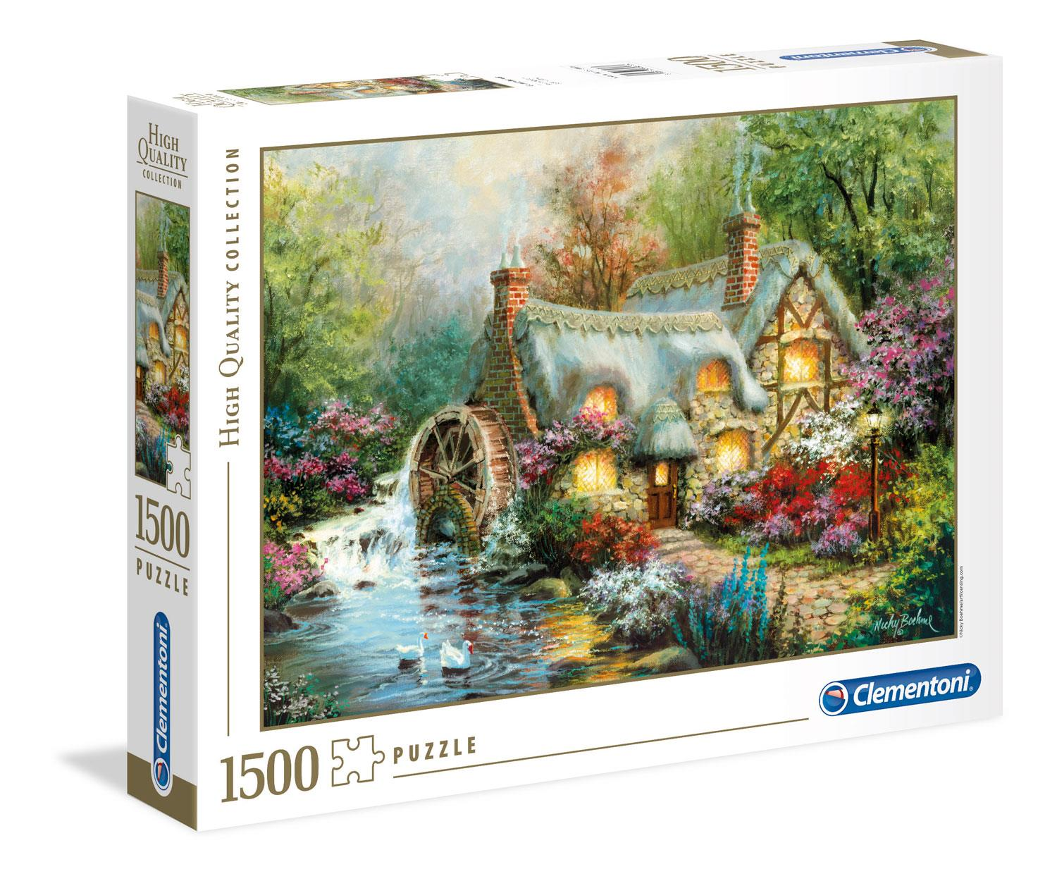 Clementoni Country Retreat High Quality Jigsaw Puzzle (1500 Pieces)
