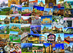 Eurographics Germany Globetrotter Jigsaw Puzzle (1000 Pieces)