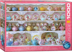Eurographics China Cabinet  Jigsaw Puzzle (1000 Pieces)