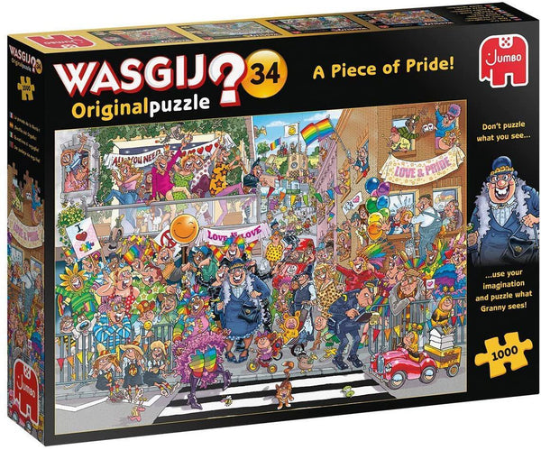 Wasgij Original 34 A Piece of Pride Jigsaw Puzzle (1000 Pieces)