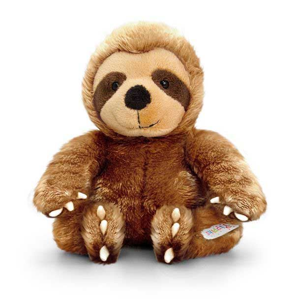 Keel Pippins Sloth Soft Toy 14cm