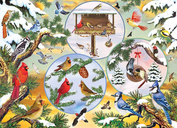 Cobble Hill Winterbird Magic Jigsaw Puzzle (500 Pieces)