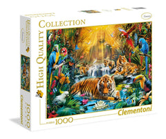 Clementoni Mystic Tigers High Quality Jigsaw Puzzle (1000 Pieces)