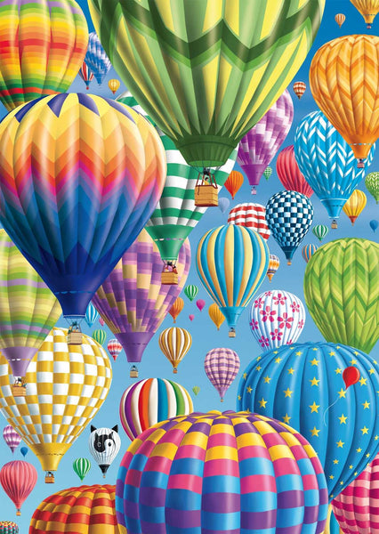 Schmidt Colourful Balloons In The Sky Jigsaw Puzzle (1000 Pieces)