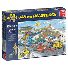 Jan Van Haasteren Formula 1 The Start  Jigsaw Puzzle (1000 Pieces)