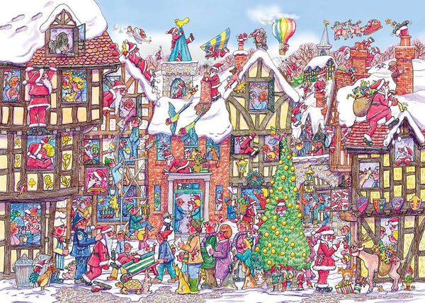 Gibsons Santa Scramble Bauble Jigsaw Puzzle (250Pc)