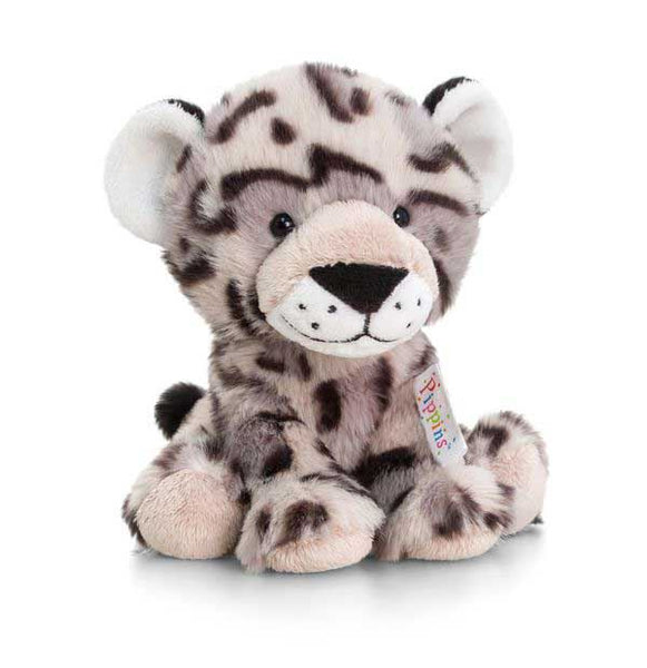 Keel Pippins Snow Leopard Soft Toy 14cm