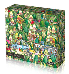 Gibsons Avocado Park Jigsaw Puzzle (1000 pieces)
