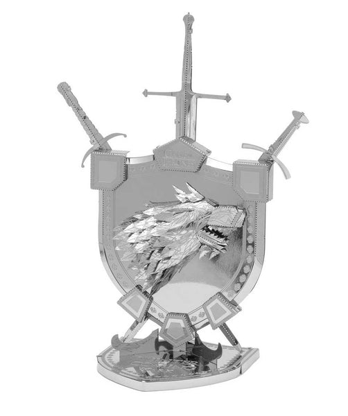 Metal Earth ICONX 3D Model Kit Game of Thrones - House Stark Sigil