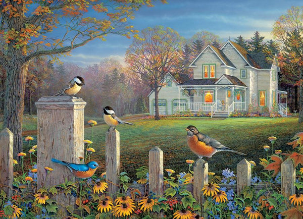 Cobble Hill Evening Birds Jigsaw Puzzle (1000 Pieces)