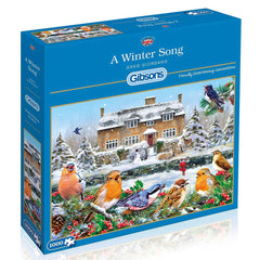 Gibsons A Winter Song Jigsaw Puzzle (1000 Pieces)