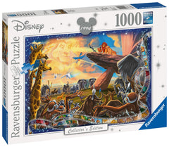 Ravensburger Disney Collector's Edition Lion King Jigsaw Puzzle (1000 Pieces)