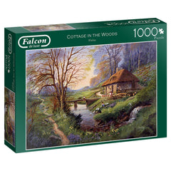 Falcon Deluxe Cottage in the Woods Jigsaw Puzzle (1000 pieces)