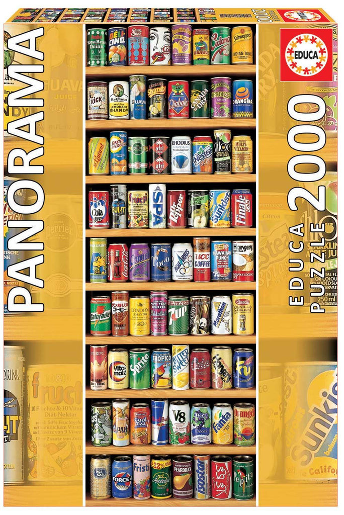 Educa Borras Soft Cans Panorama 2000 Piece Jigsaw Puzzle