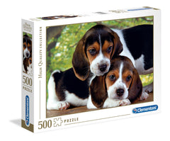 Clementoni Close Together High Quality Jigsaw Puzzle (500 Pieces)