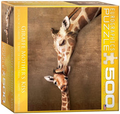 Eurographics Giraffe Mother's Kiss Jigsaw Puzzle (500 XL Pieces)
