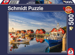 Schmidt Weisse Wiek Fishing Harbour Jigsaw Puzzle Jigsaw Puzzle (500 Pieces)
