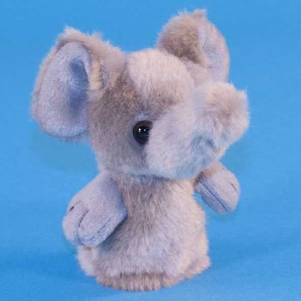 Dowman Elephant Finger Puppet Soft Toy