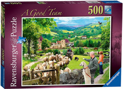 Ravensburger A Good Team Jigsaw Puzzle (500 Pieces)