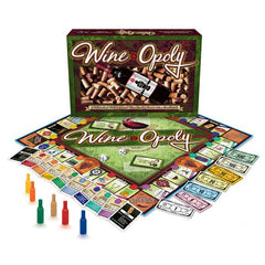 Wine-Opoly Board Game - DAMAGED